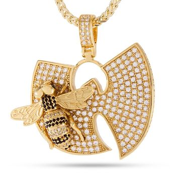 Wu-Tang Clan x King Ice – The Killa Beez Necklace