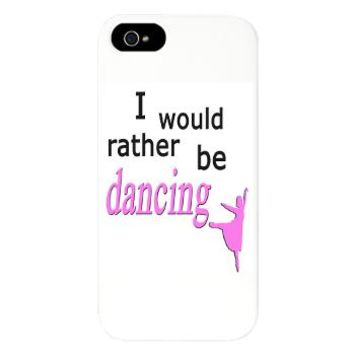 Rather Be Dancing iPhone 5 Case
