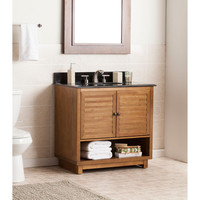 Lansbrook Bathroom Vanity Sink With Granite Top
