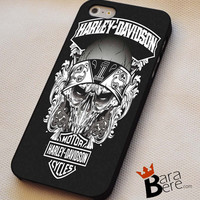Harley Davidson logo art iPhone 4s iphone 5 iphone 5s iphone 6 case, Samsung s3 samsung s4 samsung s5 note 3 note 4 case, iPod 4 5 Case