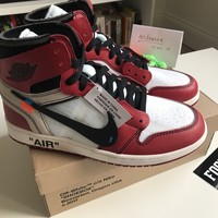 "Nike x Off-White Air Jordan 1 UK 8 US 9 ""The Ten"" c/o Virgil Abloh Authentic"