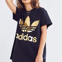 adidas Originals Gold Trefoil Tee | Urban Outfitters