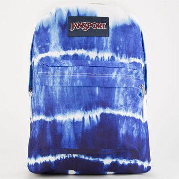 Jansport High Stakes Backpack Blue Wash Dip Dye One Size For Women 24759720001