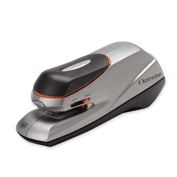 Swingline Electric Stapler Optima Grip Dual Power 20 Sheet Capacity Silver (S...