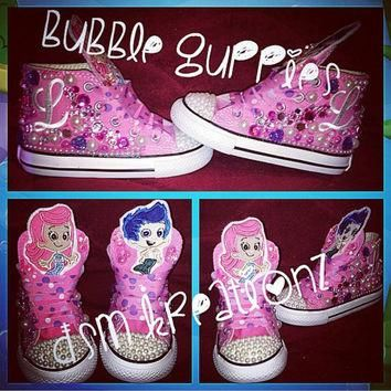 BUBBLE GUPPIES!!!! Custom Converse Sneakers