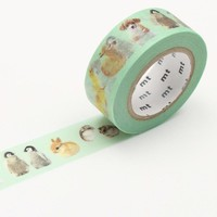 mt EX Washi Tape Single Baby Animals - Omoi Zakka Shop