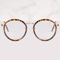 Round Clear Lens Lola Glasses