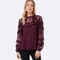 Miley Floral Embroidered Blouse