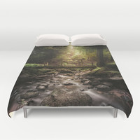 Moby dick Duvet Cover by HappyMelvin
