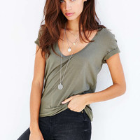 Truly Madly Deeply Naomi Scoop Neck Tee - Urban Outfitters