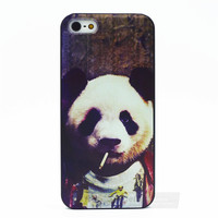 Cute Panda Case For iPhone  4 4s 5 5s 5c 6 6s 6plus 6s plus