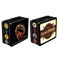 Game of Thrones Tin Lunch Box - Dark Horse - Game of Thrones - Lunch Boxes at Entertainment Earth