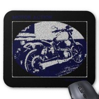 Motor Action Mouse Pad