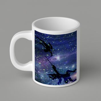 Gift Mugs | Peter Pan With Captain Hook Ceramic Coffee Mugs