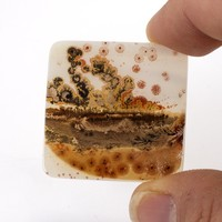 32x32mm Top Grade Indian Picture Agate