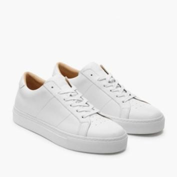 GREATS® Royale Leather Low-Top Sneakers