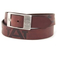 Auburn Tigers Brandish Leather Belt