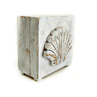 Shabby Chic Shell Box