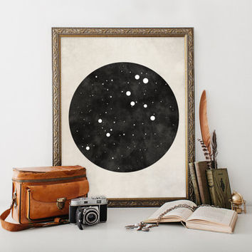 Leo Art, Leo Constellation, Zodiac art, Zodiac Constellation