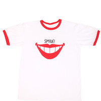 Smile Ringer T-Shirt