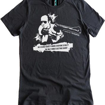 Hunter S. Thompson Closed Society Premium Dual Blend Shirt