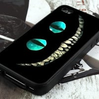 Alice Wonderland Cheshire Cat - iPhone 4 Case ,iPhone 5 case,samsung galaxy s3 and Samsung galaxy s4 Hard Plastic Case