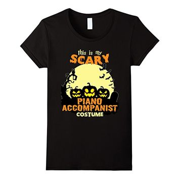 This is my scary Piano Accompanist costme T-Shirt