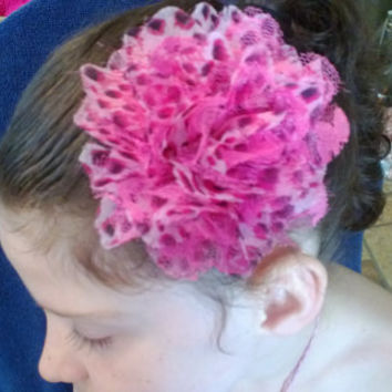 All Sizes Flower Hair Clip 003