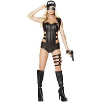 Hot Fuzz SWAT Woman Halloween Costume