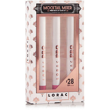 Lorac Mocktail Mixer PRO Matte Lip Color Set | Ulta Beauty