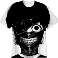 Tokyo Ghoul - Kaneki's Mask created by A PAOM Designer | Print All Over Me