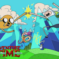 Adventure Time Cartoon Poster 11x17