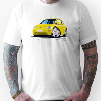 VW New Beetle Yellow Unisex T-Shirt