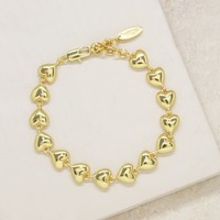 "Lucky Charm Heart Bracelet ""The Lover"""