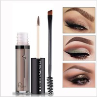 PUDAIER Long Lasting Pigment Black Brown Waterproof with Brush Eye Brow Tint Tattoo Mascara Wunder Eyebrow Enhencers Cosmetics