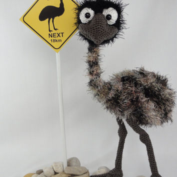Emma the Emu - Amigurumi Crochet Pattern
