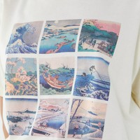 Future State Wave Art Collage Tee | Urban Outfitters