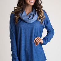 Royals Can Be Comfy Too Blue Tunic