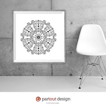 Minimalist Printable Art Zen Art Home Decor Modernist Wall Art Minimal Wall Print Instant downloadable art print black and white art prints