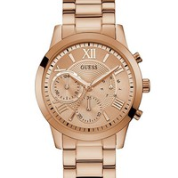 Rose Gold-Tone Watch at Guess