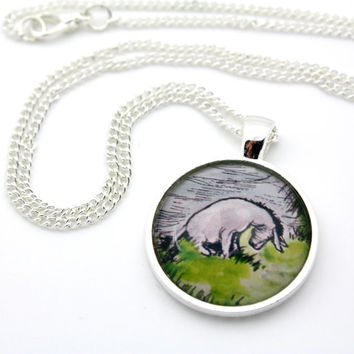 Winnie the Pooh, Classic Eeyore Necklace
