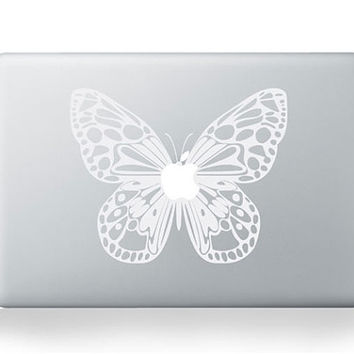 Butterfly Apple Macbook 13 inches Pro Air Retina Sticker Skin Vinyl Decal- Macbook Decals, Skins, Unique Gifts, Macbook Accessories