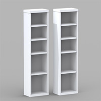 Liber-T Pair of CD / DVD Storage Towers