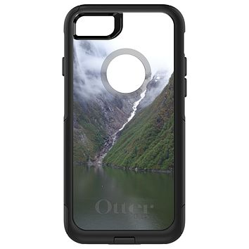 DistinctInk™ OtterBox Commuter Series Case for Apple iPhone or Samsung Galaxy - Tracy Arm Fjord Waterfall