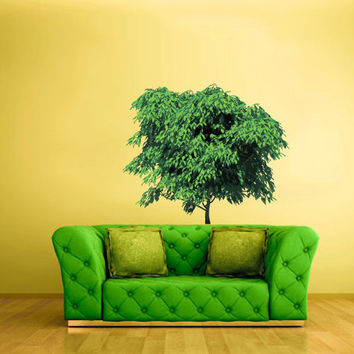 Full Color Wall Decal Mural Sticker Bedroom Living Room Poster Decor Art Tree Foliage (col636)