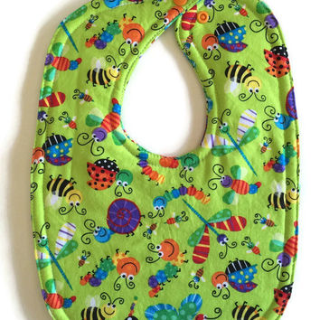Handmade baby bib baby boy bib girl bib gender neutral new baby gift unique baby bibs unisex layette feeding bib infant