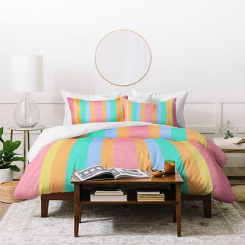 Lisa Argyropoulos Tropical Sundae Duvet Cover