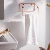Minimal Copper Towel Ring   Urban Outfitters