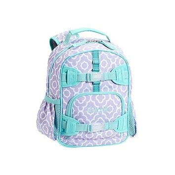 Mackenzie Lavender Moroccan Geo Backpacks From Pottery