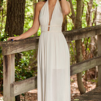 Wild Flower Day Dream Maxi - Cream